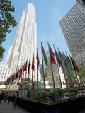 Rockefeller Center Photographic Print by Marty Lederhandler
