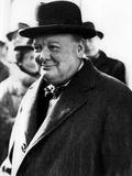 Winston Churchill Papier Photo