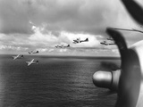 WWII U.S. Bombers Marianas Photographic Print by  Anonymous