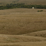 Travel Trip Tallgrass Prairie Photographic Print by Charlie Riedel