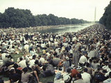 Civil Rights Washington March 1963 Photographic Print by  Associated Press