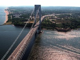 New York Landmarks Verrazano Photographic Print by Ed Bailey