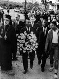 MLK Leads March for Slain Unitarian Minister 1965 Fotografisk trykk av  Anonymous