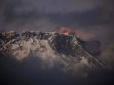 APTOPIX Nepal Mount Everest Photographic Print by Kevin Frayer