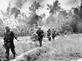 Vietnam War U.S. Marines Da Nang Photographic Print by  Associated Press