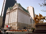 Plaza Hotel Photographic Print by Marty Lederhandler