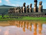 Chile, Las siete nuevas maravillas del mundo Lámina fotográfica