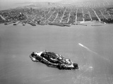 Baie de San Francisco, Alcatraz Photographie par  Anonymous