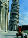 Leaning Tower of Pisa Photographic Print by  Associated Press