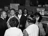 MLK Freedom Riders 1961 Papier Photo
