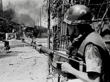 Vietnam War Tet Offensive Photographic Print by Nick Ut