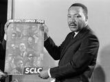 MLK Poor Peoples Campaign Poster 1968 Photographie par Horace Cort