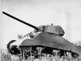 Sherman M4 Tank Photographic Print