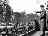 WWII Hitler Salutes Warsaw Photographic Print by  Anonymous