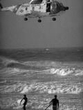 Hurricane Belle 1976 Fotografie-Druck von Ed Bailey