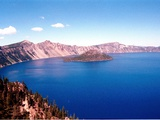Crater Lake Mapping Photographic Print by Jeff Barnard