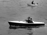 England Prince Philip Speedboat Photographic Print by  Anonymous