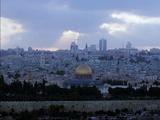 Mideast Israel Jerusalem Gala Photographic Print by Eyal Warshavsky