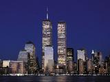 Attacks Trade Center Fotografisk tryk af Mark Lennihan