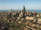Chicago Skyline Photographic Print by Beth A. Keiser