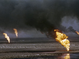 Kuwait Oil Fire Photographic Print