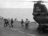 Vietnam Evacuation 1975 Photographic Print by  Associated Press