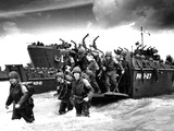 American Troops D-Day Photographic Print