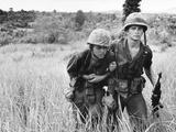 Vietnam War U.S. Wounded Photographic Print by John T. Wheeler