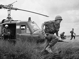 Vietnam War US Advisor Photographic Print by Horst Faas