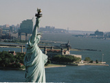 Statue of Liberty 1990 Photographic Print by Marty Lederhandler