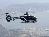 Michel Spingler - A Gendarme Helicopter is Seen Above the Bay of Cannes - Fotografik Baskı