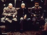 Big Three Yalta 1945 Fotografie-Druck von  Anonymous