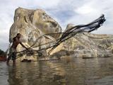 APTOPIX Thailand Floods Photographic Print by Sunti Tehpia