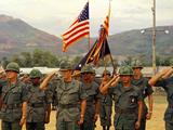 Stand Down of Last US Combat Battalion 1972 Photographic Print by Koichiro Morita
