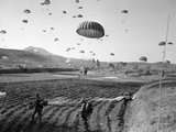 Korean War Paratroopers 1951 Photographic Print by  Anonymous