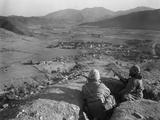 Korean War US Marines 1951 Photographic Print by James Martenhoff