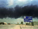 Gulf War Photographic Print by Laurent Rebours