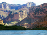 Travel Grand Canyon Rafting Photographic Print by Brian Witte