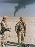 Gulf War 1990 Photographic Print by Sadayuki Mikami