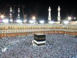 Mideast Saudi Arabia Hajj Photographic Print by Hassan Ammar