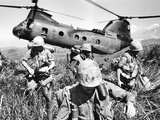 Vietnam War U.S. Marines Photographic Print by  Associated Press