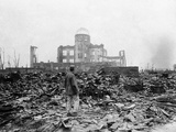 WWII Hiroshima Aftermath Photographic Print by Stanley Troutman