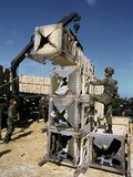1991 Gulf War Israel Photographic Print by Martin Cleaver
