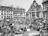 WWII Paris Liberation 1944 Photographic Print by Peter Carroll