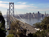 San Francisco Oakland Bay Bridge Photographic Print by Paul Sakuma
