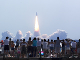 Space Shuttle Discovery Photographic Print by Phil Sandlin