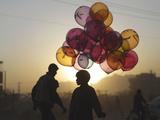 APTOPIX Afghanistan Daily Life Photographic Print by Muhammed Muheisen