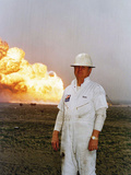 1991 Gulf War Oil Fires Photographic Print by Roberto Borea