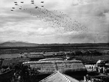 Korean War Airborne Photographic Print by Max Desfor
