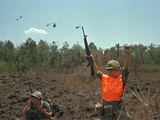 Vietnam War Paratrooper Photographic Print by Horst Faas